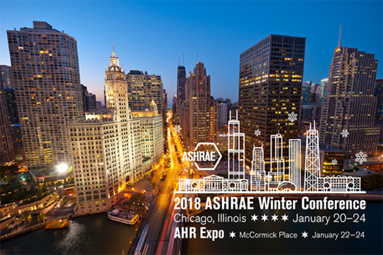 ASHRAE Presents Awards At The 2018 Winter Conference