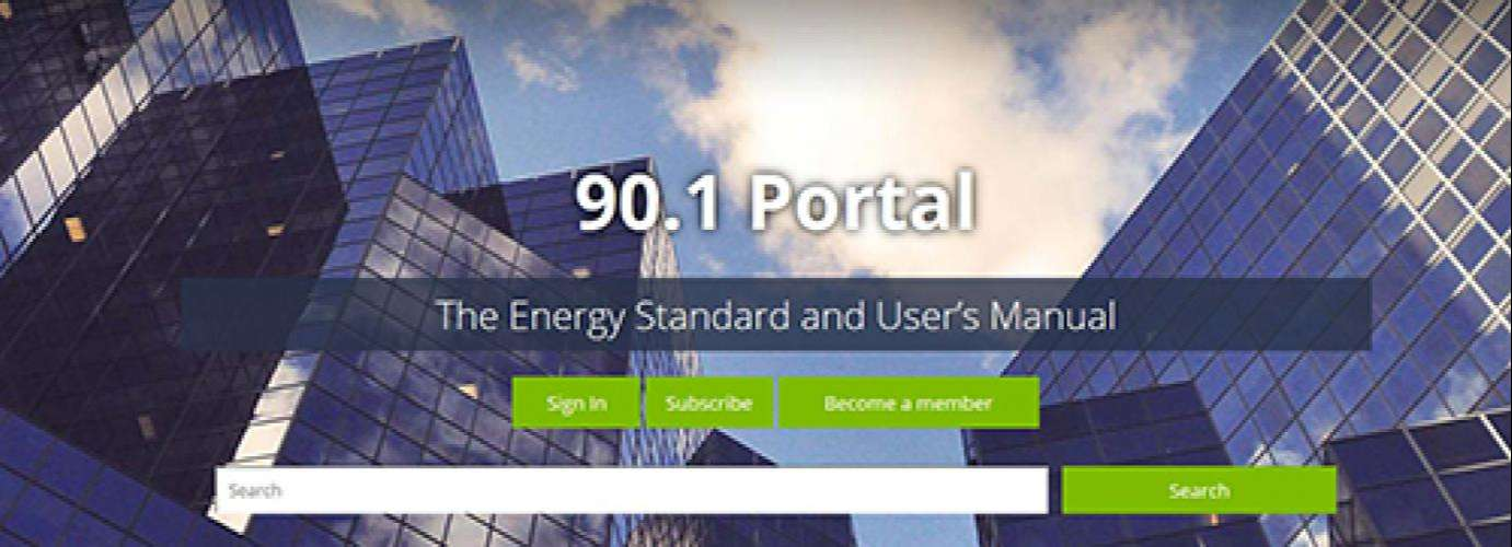 ASHRAE New Standard 90.1 Portal Offers Centralized Resources To Users