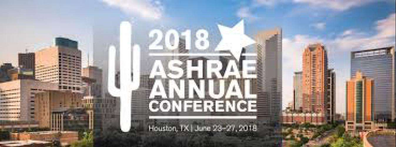 ASHRAE Announces Technical Program for Annual Conference, June 23 -27
