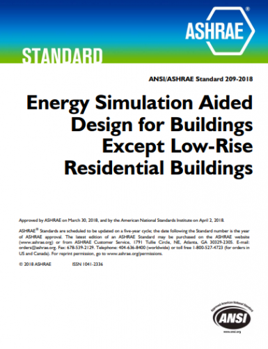 ASHRAE Publishes Energy Simulation-Aided Design Standard