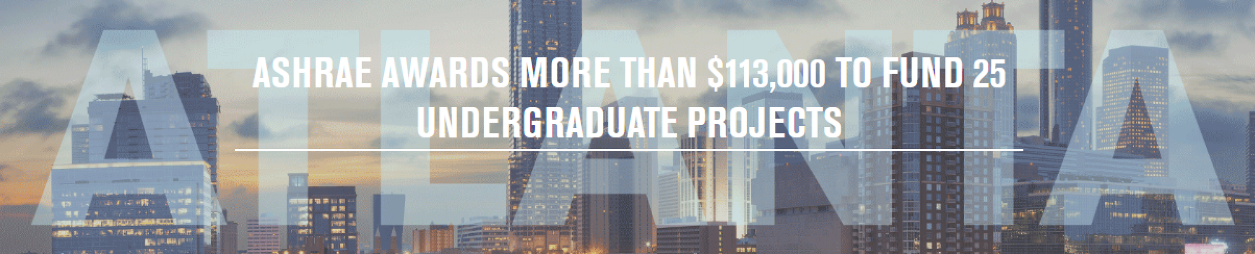 ashrae-awards-more-than-$113,000-to-fund-25-undergraduate-projects